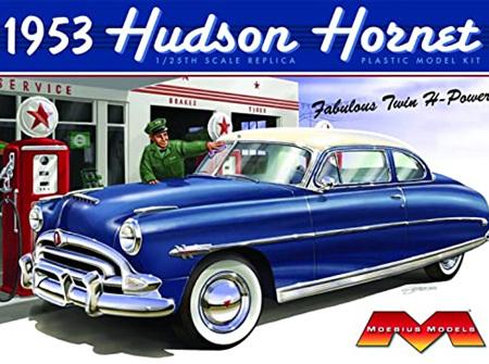 Moebius 1/25 53 Hudson Hornet Coupe (MOE1200)