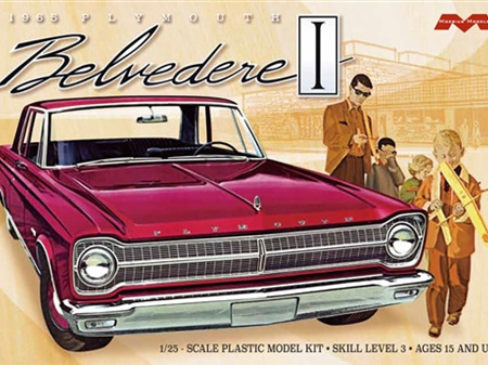 Moebius 1/25 '65 Plymouth Belvedere