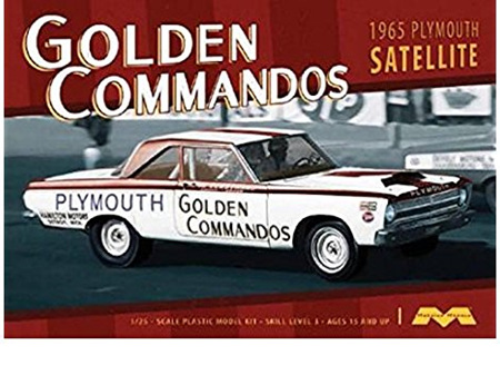 Moebius 1/25 65 Plymouth Golden Commando