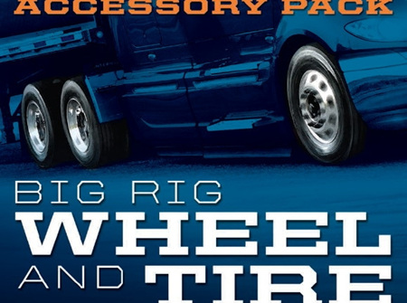 Moebius 1/25 Big Rig Wheel & Tire Set (MOE1010)