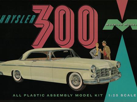 Moebius 1/25 Chrysler 300 (MOE1201)