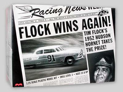 Moebius/Model King 1/25 1952 Hudson Hornet Tim Flock