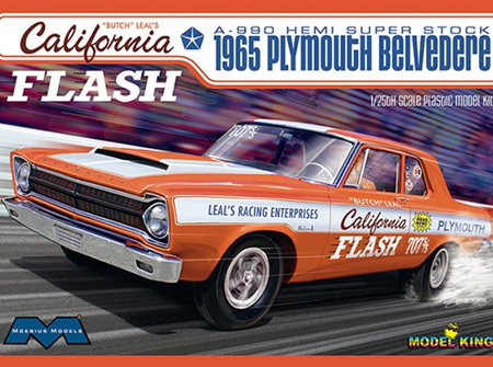 Moebius/Model King 1/25 Butch Leal's California Flash 1965 Plymouth (MOE1222)