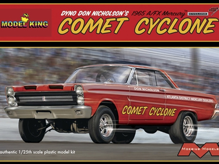 Moebius/Model King 1/25 Dyno Don Nicholson's 1965 A/FX Mercury Comet Cyclone