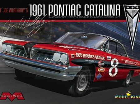 Moebius/Model King 1/25 Joe Weatherley's 1961 Pontiac Catalina (MDK1221)
