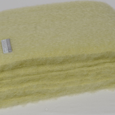 Mohair Knee Rug - Avocado