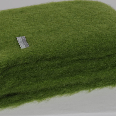 Mohair Knee Rug - Lime