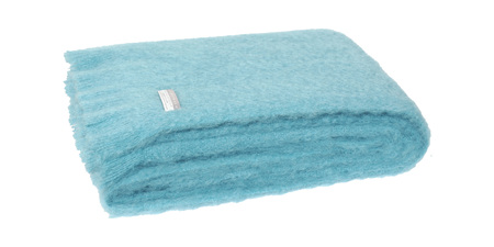 Mohair Knee Rug - Seaspray