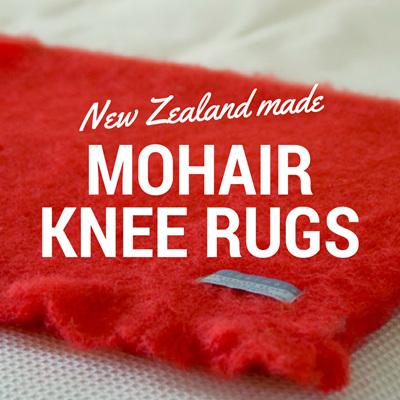 Mohair Knee Rugs