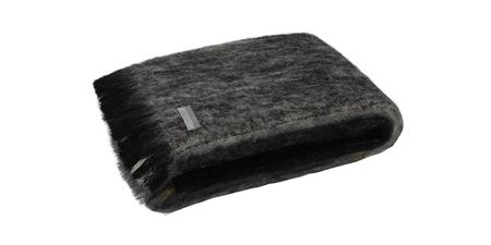 Mohair Throw Blanket - Artic