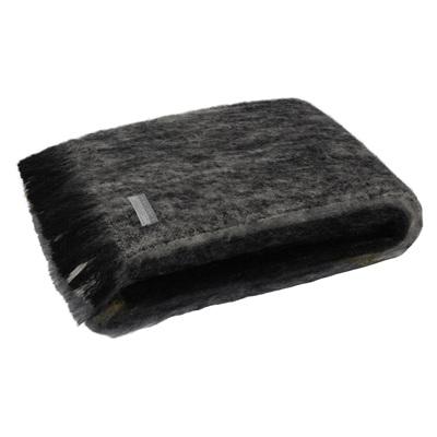 Mohair Throw Blanket - Artic
