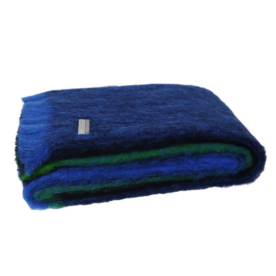 Mohair Throw Blanket - Horizon
