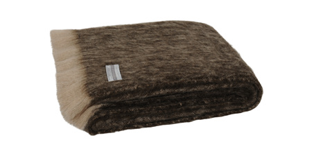 Mohair Throw Blanket - Kiwi