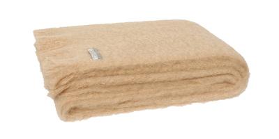 Mohair Throw Blanket - Paper