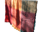 Mohair Throw Blanket - Picasso