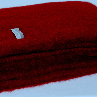 Mohair Throw Blanket - Tamarind