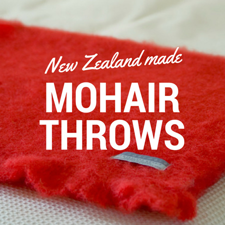 Mohair Throw Blankets