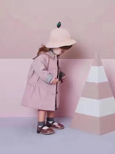 Moimoln Pink Coat