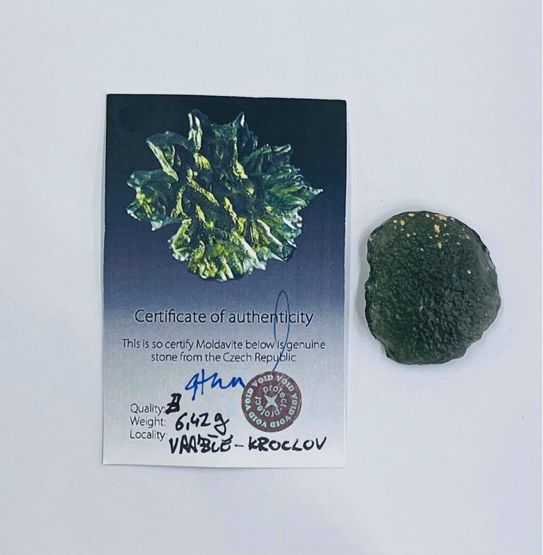 Moldavite 6.4gm B