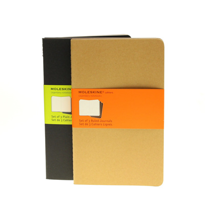 Moleskine Cahiers - set of 3 journals - large