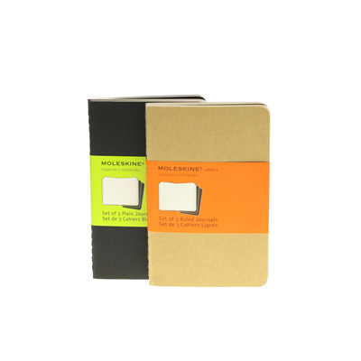 Moleskine Cahiers - set of 3 journals - pocket