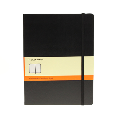 Moleskine Classic Collection hard cover notebook - extra-large