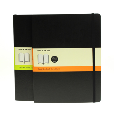 Moleskine soft cover notebook - extra-large
