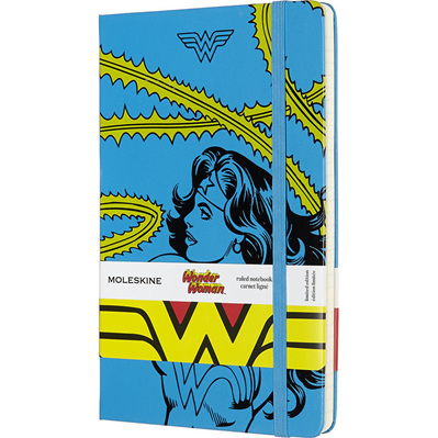 Moleskine Wonder Woman - Blue Large