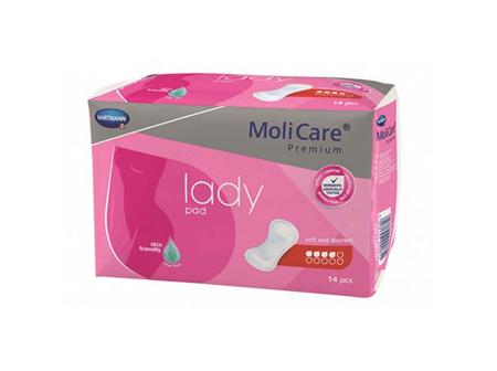 Molicare Prem Lady Pad 4D 14 X12