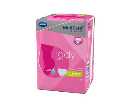 Molicare Prem Lady Pant 5D Lge 7 X8