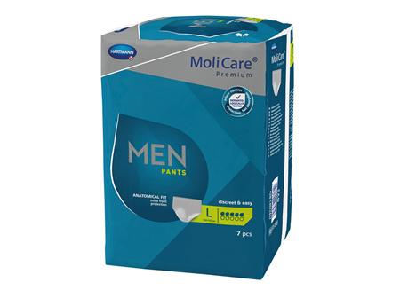 Molicare Prem Men Pants 5D Lge 7 X4