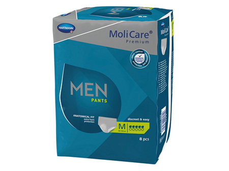 Molicare Prem Men Pants 5D Med 8 X4