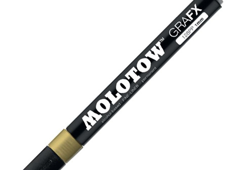 Molotow 128PP Fineliner Gold
