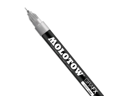Molotow 128PP Fineliner Silver