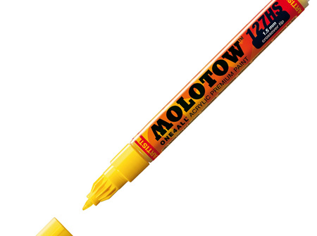MOLOTOW ONE4ALL 127HS-CO 1.5mm Fine Tip Zinc Yellow