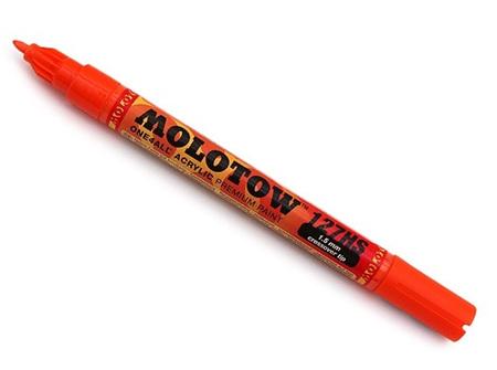MOLOTOW ONE4ALL 127HS-CO 1.5mm Fine Tip Dare Orange