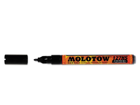 MOLOTOW ONE4ALL 127HS-CO 1.5mm Fine Tip Signal Black