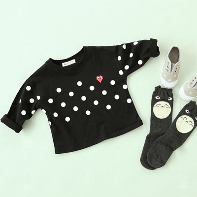 Mom & Bebe spot sweatshirt