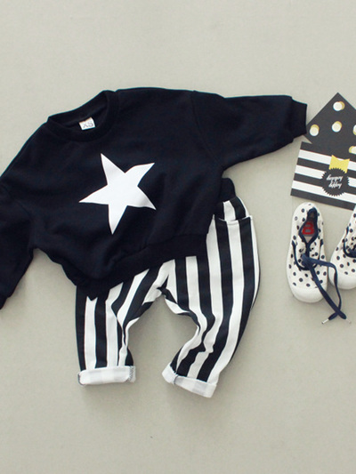 Mom & Bebe star sweatshirt