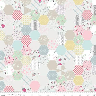 Moments Hexagon White C9012-White