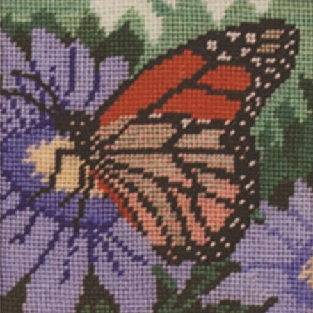 Monarch Butterfly Needlepoint Kit