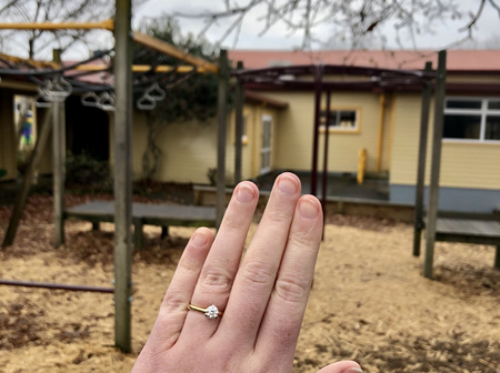Monkey Bars to Building Plans (and a Diamond Ring)