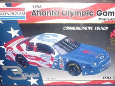 Monogram 1/24 1996 Atlanta Games Earnhardt/Goodwrench