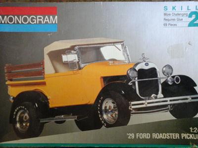 Monogram 1/24 29 Ford Roadster Pick-Up