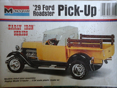 Monogram 1/24 29 Ford Roadster Pick-Up