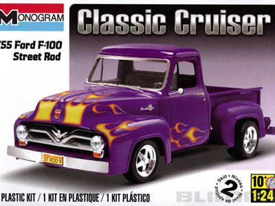 Monogram 1/24 55 Ford F-100 Street Rod