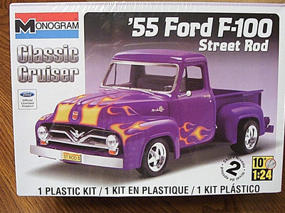 Monogram 1/24 55 Ford F100 Street Rod