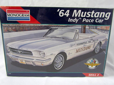 Monogram 1/24 64 Mustang Indy Pace Car