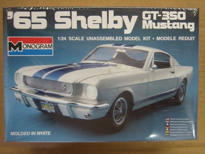 Monogram 1/24 65 Shelby GT350 Mustang
