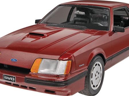 Monogram 1/24 '85 Ford SVO Mustang
